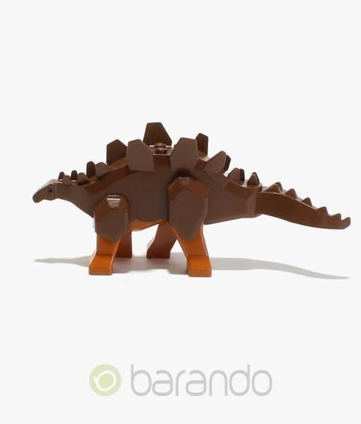 LEGO Stegosaurus Stego02 - braun dunkelorange Beine