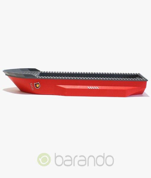 LEGO Schiff 62791c01 Feuerwehrboot in rot