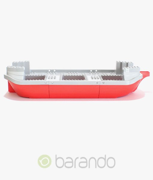 LEGO Schiff 47983 Piratenschiff in rot