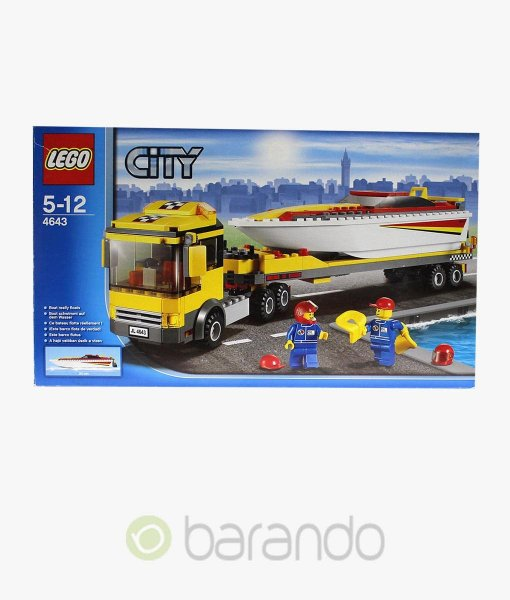 LEGO City 4643 Powerboot Transporter Set kaufen