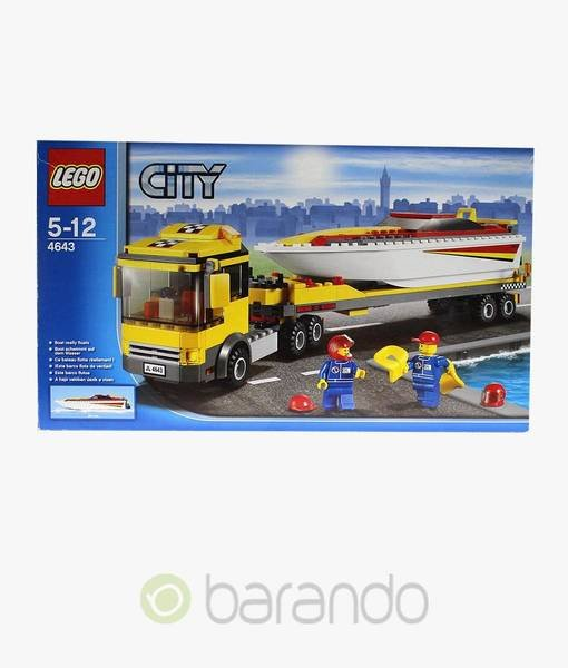 LEGO City 4643 - Powerboot Transporter