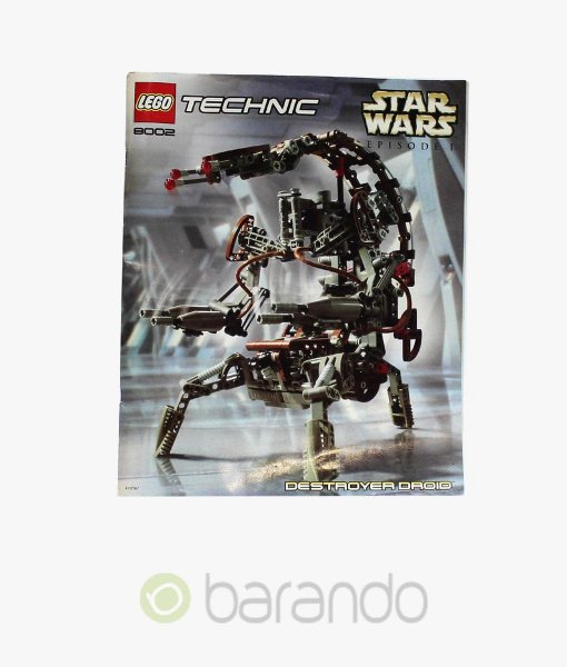 LEGO Technic 8002 Destroyer Droid Star Wars Technik Set