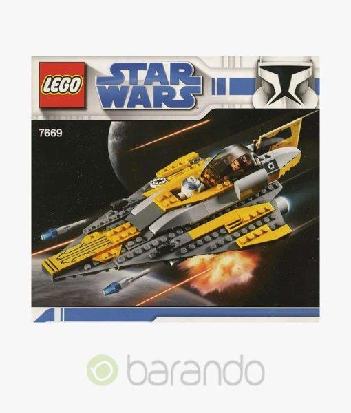 LEGO Star Wars 7669 Anakins Starfighter Set