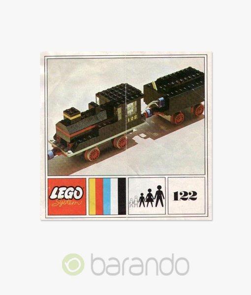LEGO Train 122 Lokomotive Eisenbahn Set
