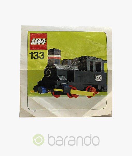 LEGO Train 133 Dampf Lokomotive Eisenbahn Set
