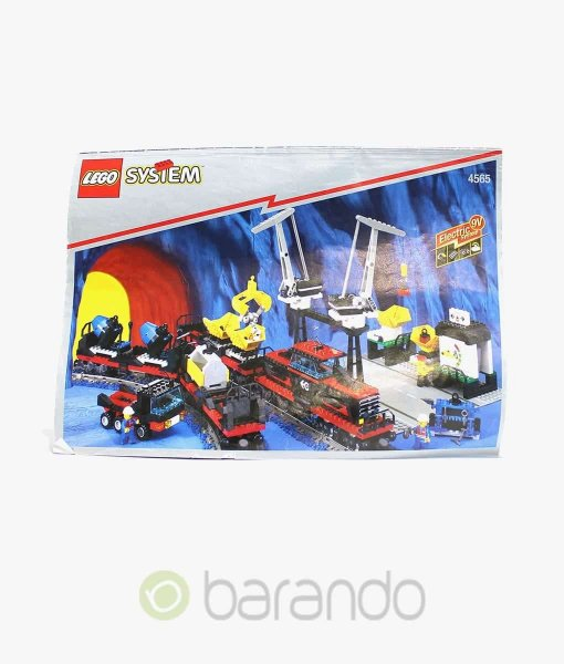 LEGO Train 4565 Schwerer Güterzug Eisenbahn Set