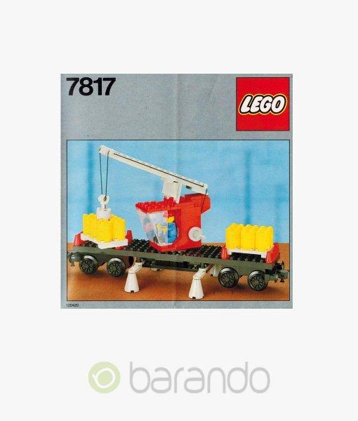 LEGO Train 7817 Kranwagen Eisenbahn Set