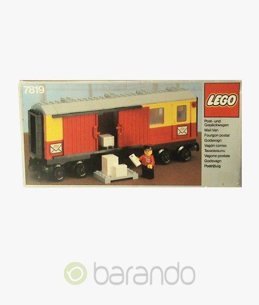 LEGO Train 7819 Postwaggon Eisenbahn Set
