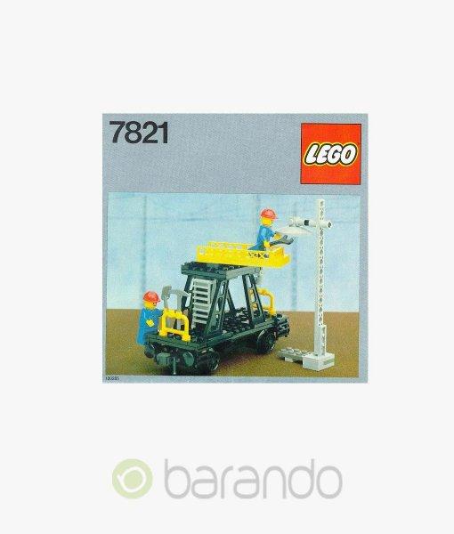 LEGO Train 7821 Reparaturwaggon Eisenbahn kaufen