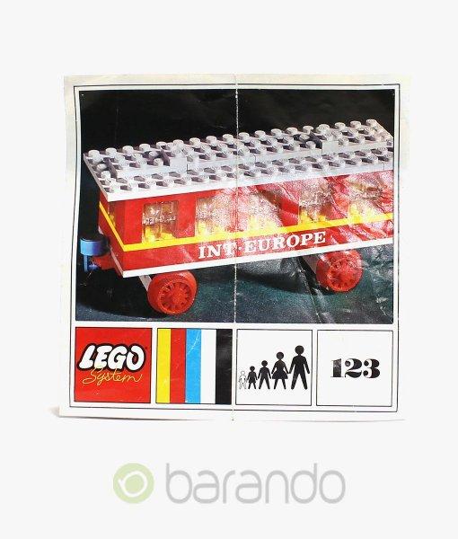 LEGO Train 123 Passagierwagen Eisenbahn kaufen