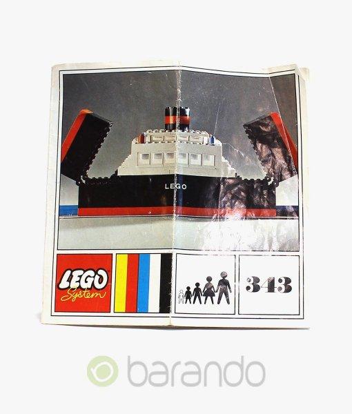 LEGO Classic 343 Eisenbahn Fähre Schiff kaufen