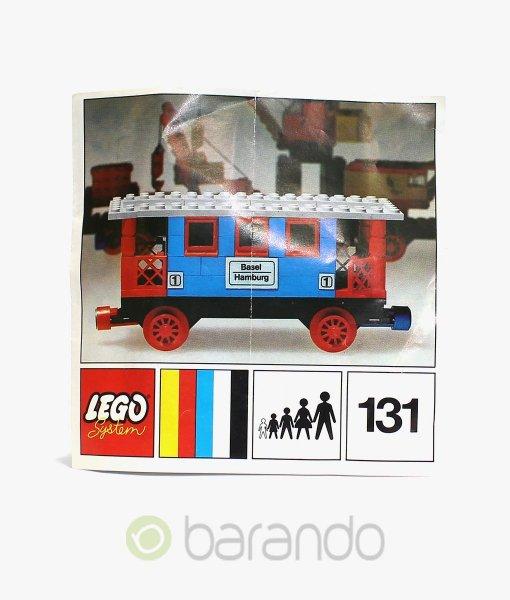 LEGO Train 131 Personenwagen Eisenbahn kaufen
