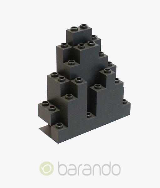 LEGO Felsen 6083 dunkelgrau Burg kaufen