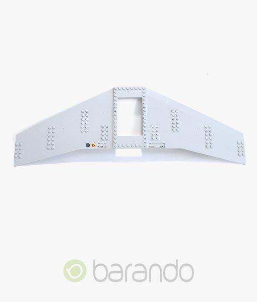 LEGO-Flugzeug-54093-Tragfläche-hellgrau