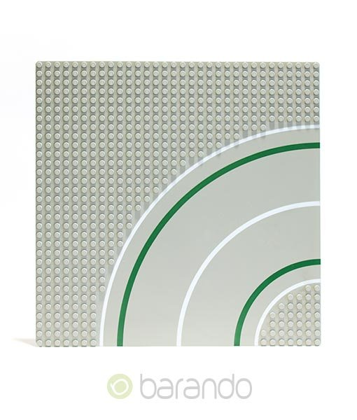LEGO Platte 2359p01 - Straßenplatte Kurve ()
