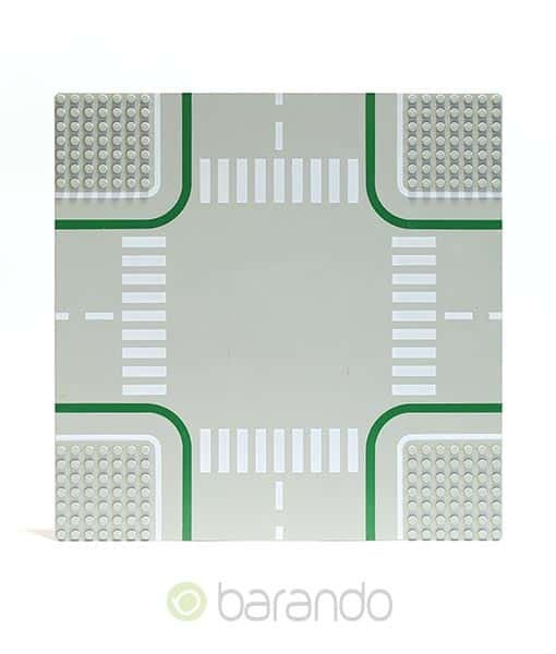LEGO Platte 2361 - Straßenplatte Kreuzung online kaufen • barando