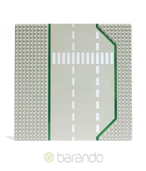 LEGO Platte 425p02 - Straßenplatte Tankstelle