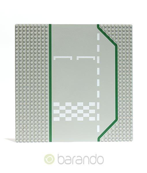 LEGO Platte 425p01 - Straßenplatte Rennstrecke ()