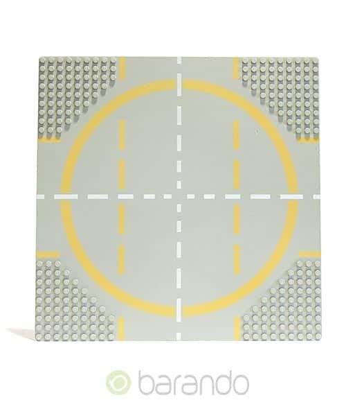 LEGO Platte 6099p03 - Straßenplatte Landeplatz