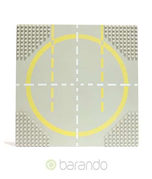 LEGO Platte 6099px2 - Straßenplatte Landeplatz