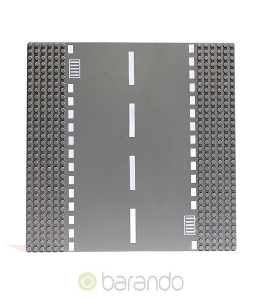 Lego Platte 44336 Straßenplatte dunkelgrau Gerade