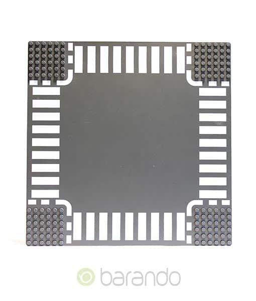 LEGO Platte 44343px3 - Straßenplatte Kreuzung ()