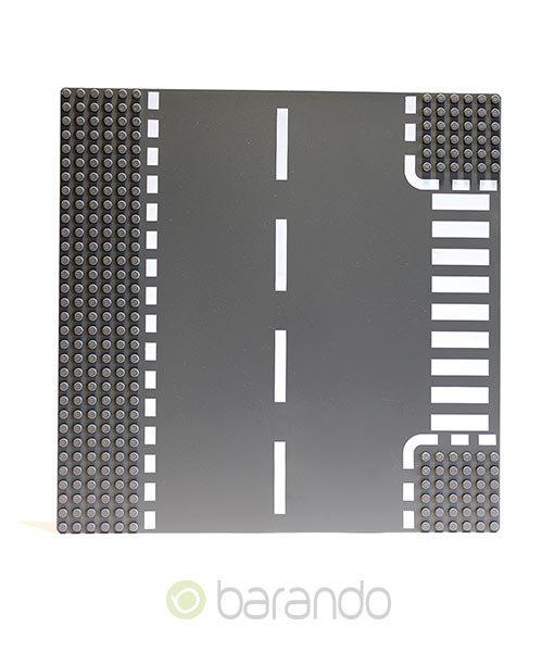 LEGO Platte 44341px2 - Straßenplatte T-Kreuzung ()