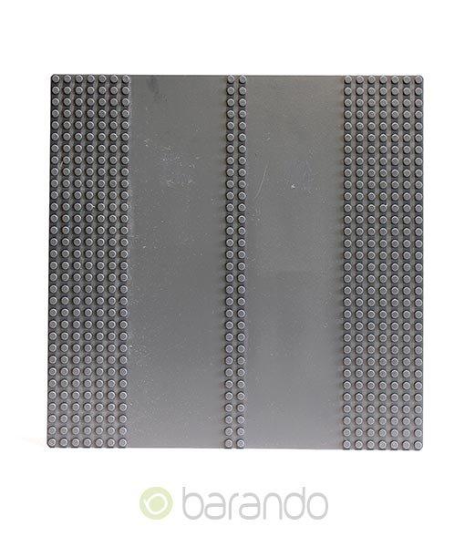 Lego Platte 30225c01 Straßenplatte dunkelgrau Doppelgerade