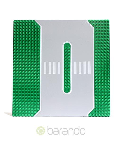 LEGO Platte 309px1 - Straßenplatte Tankstelle