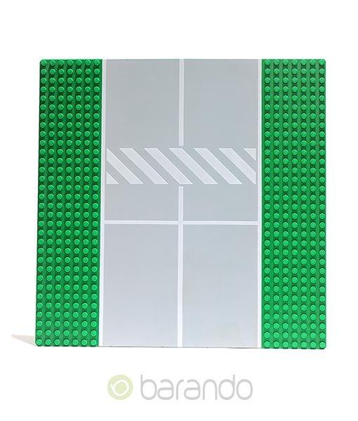 Lego Platte 2358p02 Straßenplatte grün Startbahn