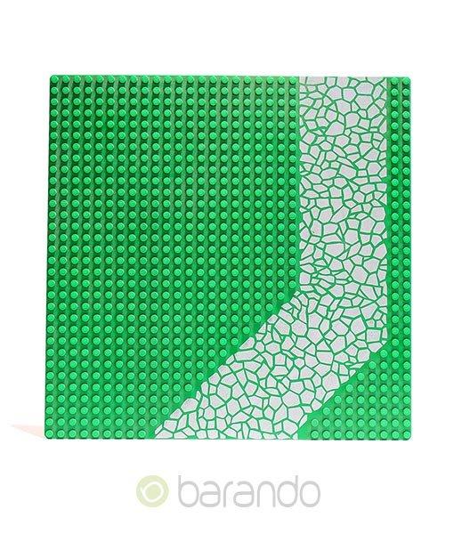 LEGO Platte 4478px2 - Straßenplatte Auffahrt