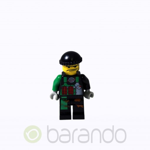 LEGO Crunch alp003 Alpha Team