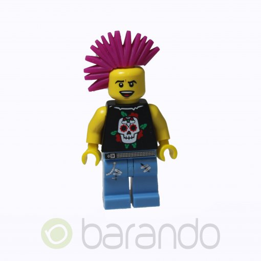 LEGO Punk Rocker col052 Series 4 Minifigures