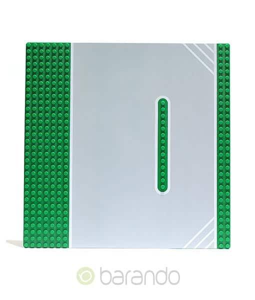 LEGO Platte 30030pb01 - Straßenplatte Rennstrecke