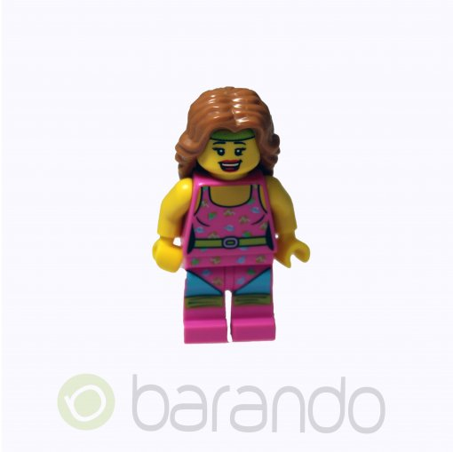 LEGO Fitness Instructor col074 Series 5 Minifigures