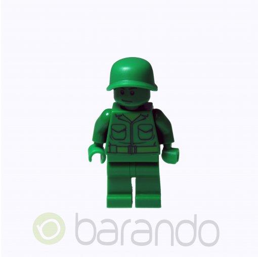 LEGO Green Army Man - Plain toy001 Toy Story