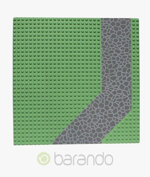 LEGO Platte 4478px3 - Straßenplatte Auffahrt