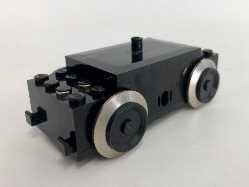 LEGO Eisenbahn Motor Zug 9V Modern - 590 - schwarz
