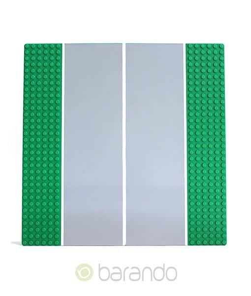 LEGO Platte 44336pb03 - Straßenplatte Gerade