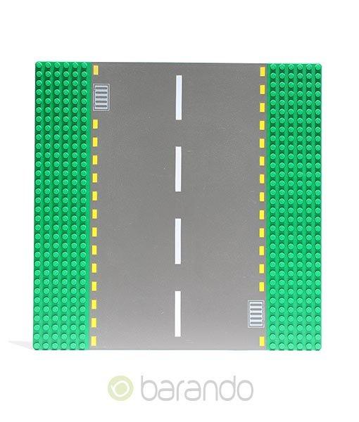 LEGO Platte 44336pb01 - Straßenplatte Gerade