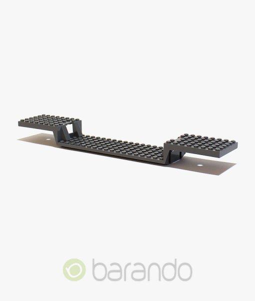 LEGO Eisenbahn 87058 - Zug Platte - dunkelgraublau