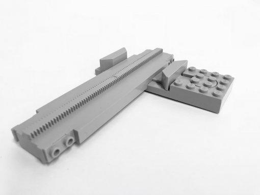LEGO 2774 - Monorail Track Monoswitch