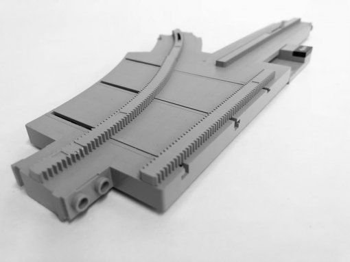 LEGO 2890 Monorail Track Point Left