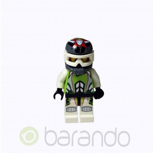 LEGO Team X-treme Daredevil 1 (REX-treme) - Dirtbike Helmet wr001 World Racers