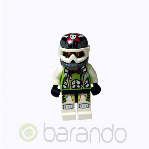 LEGO Team X-treme Daredevil 3 (MAX-treme) - Dirtbike Helmet wr011 World Racers