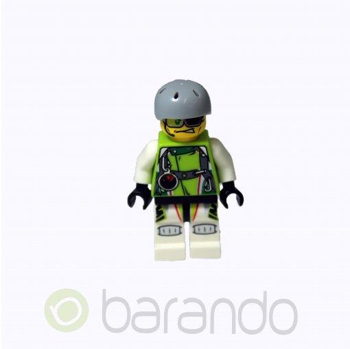 LEGO Team X-treme Daredevil 2 (DEX-treme) - Sports Helmet wr005 World Racers