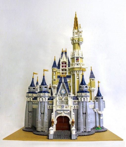 LEGO - 71040 Disney Schloss - 100% vollständig