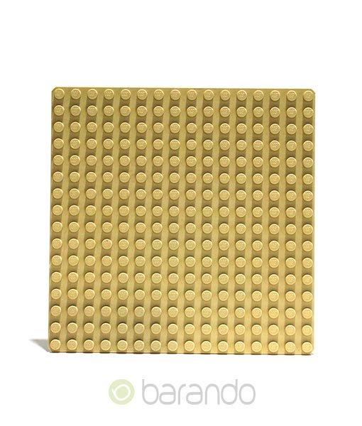 Lego Platte 3867 beige Grundplatte 16x16 Noppen
